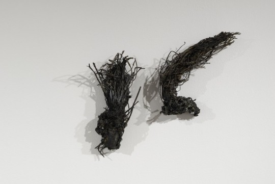 Doubt's Garden (installation detail (I)) 2009<br />Bronze 16cm (H) x 11cm (W) x 6cm (D) and 17cm (H) x 14cm (W) x 6cm (D)<br />Photographer Paul Litchfield